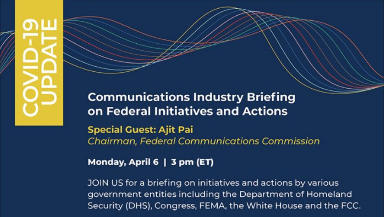USTelecom hosted an online Communications Industry Briefing on Federal Initiatives and Actions Photo