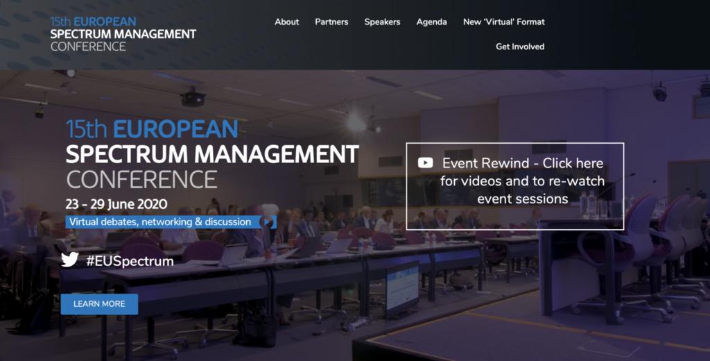 15th European Spectrum Management Conference Photo